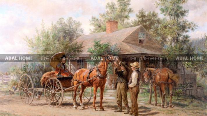 Hình 5 – Nhà tại Mỹ vào thế kỷ 19