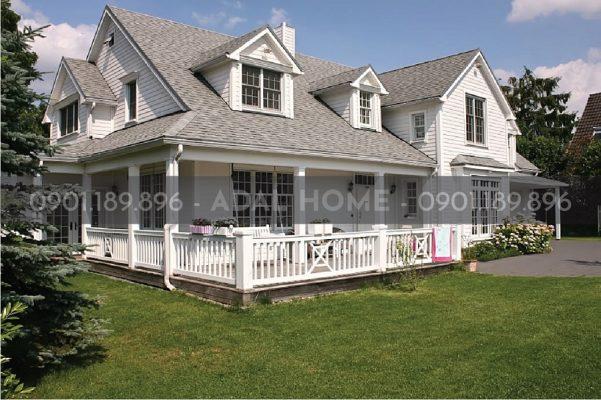Hình – Ngôi nhà tại Mỹ dùng ngói bitum