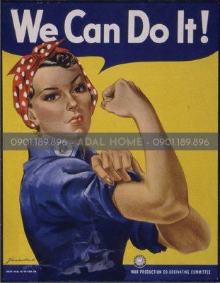 Hình - Poster We can do it