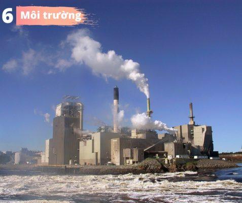 Hình – Ô nhiễm môi trường trong sản xuất VLXD