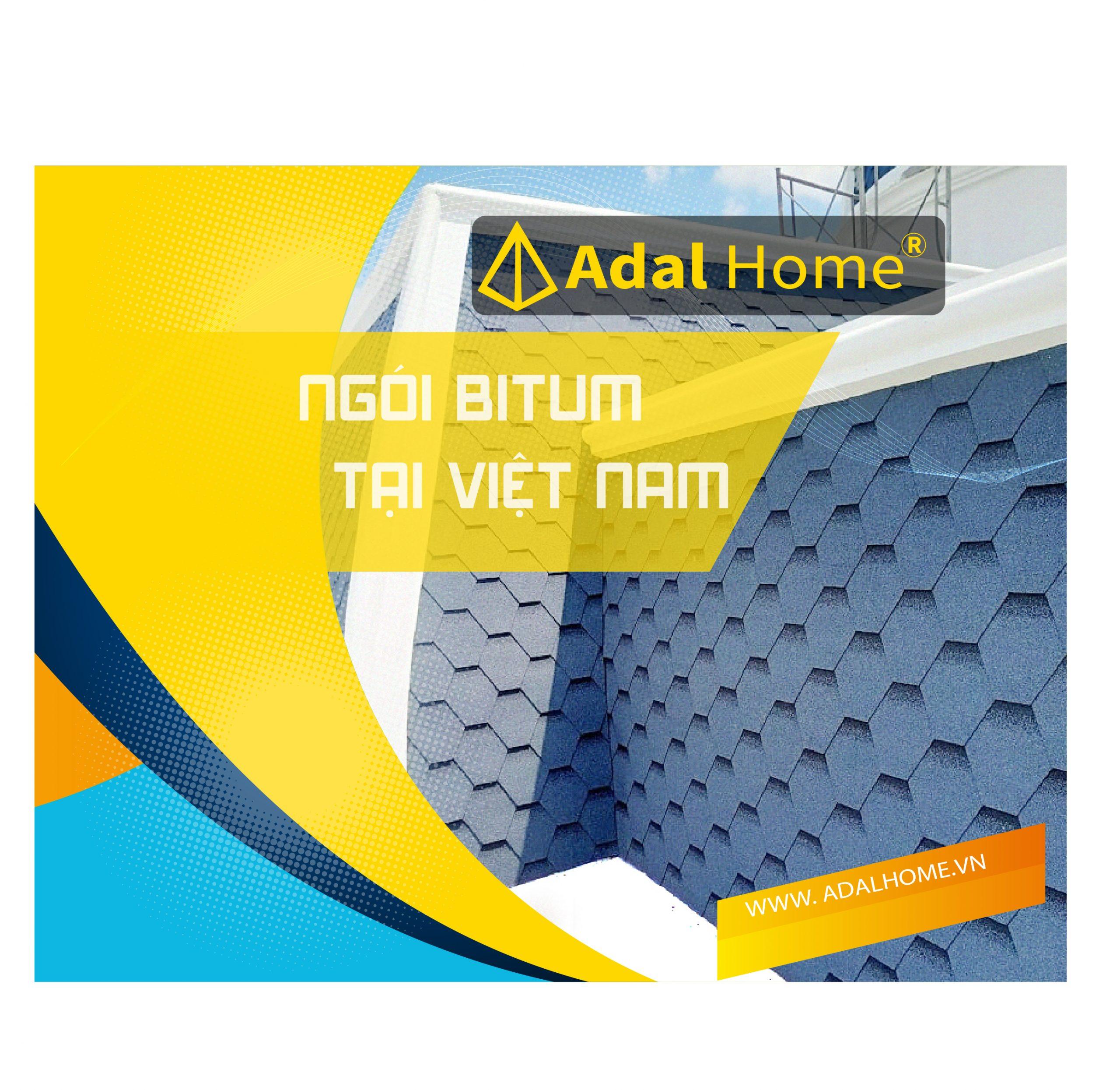 ngói dán bitum tại Việt Nam