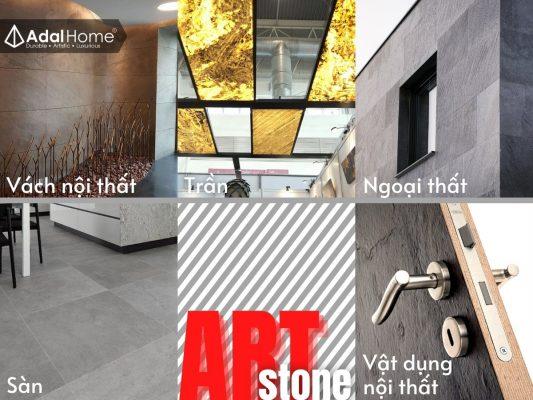 Ứng dụng của đá mỏng ốp tường Art Stone