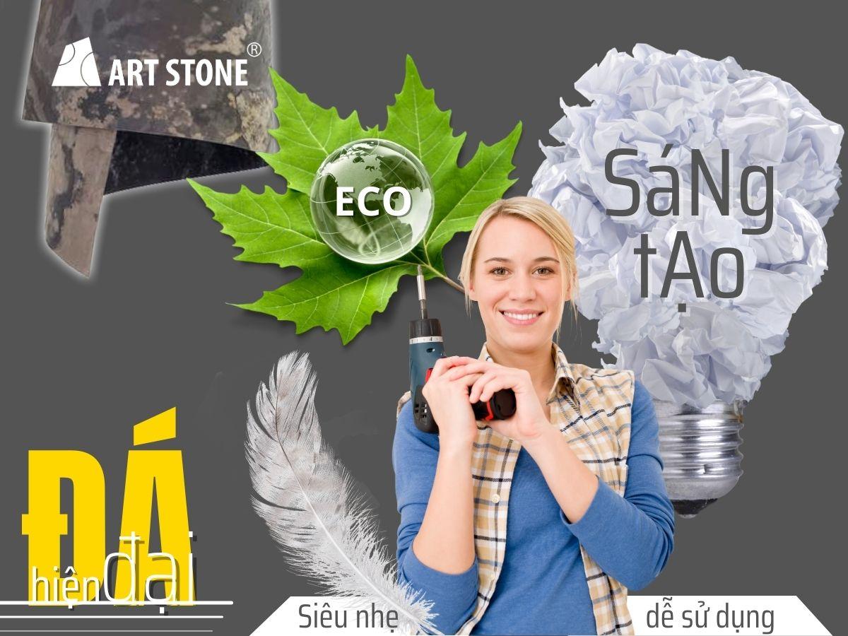Những ưu điểm giúp đá mỏng ốp tường Art Stone ưu việt