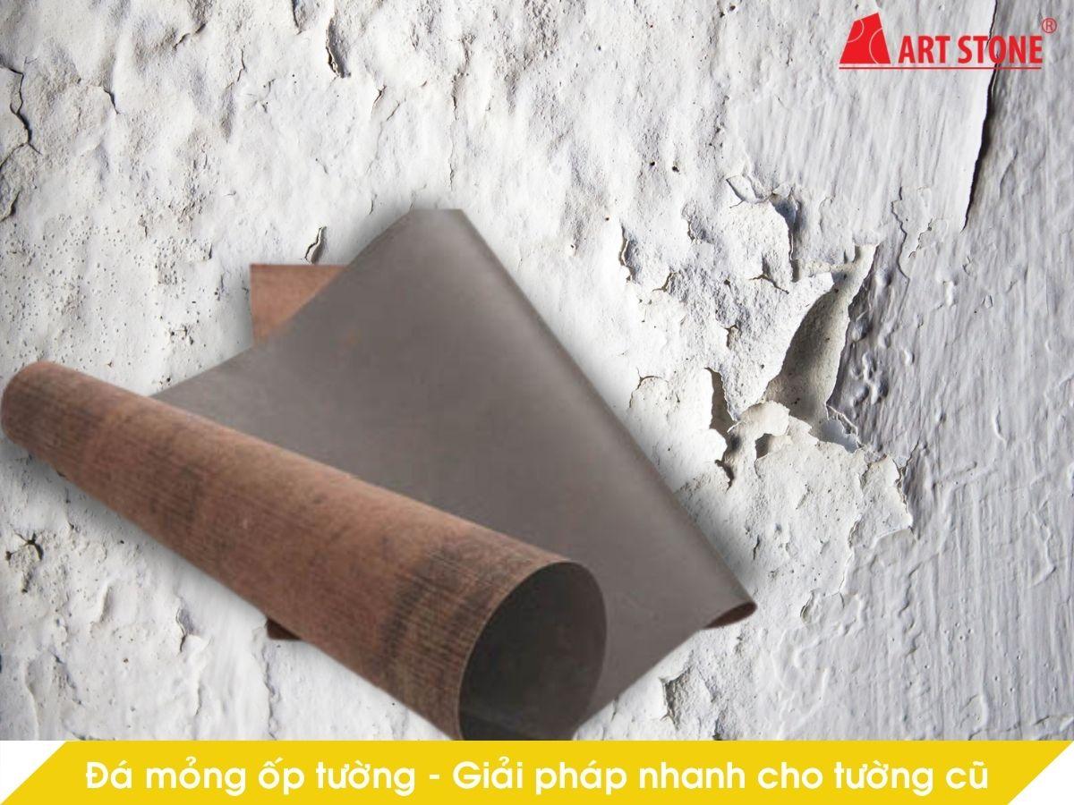 Đá mỏng ốp tường – Giải pháp nhanh cho tường cũ