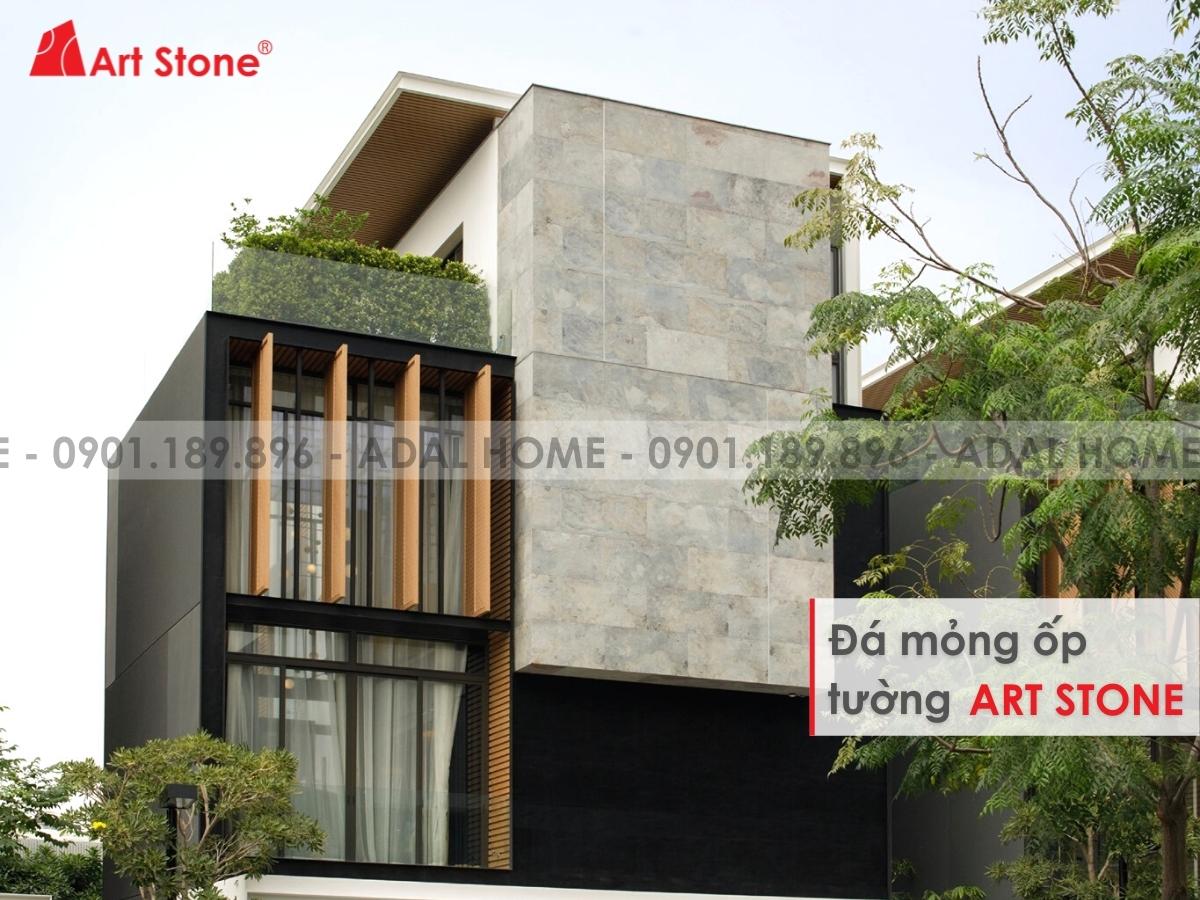 Đá mỏng ốp tường Art Stone - Phá vỡ mọi quy luật trang trí