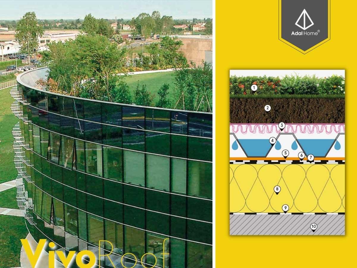 Đưa vườn lên mái nhà bằng Vivo Roof