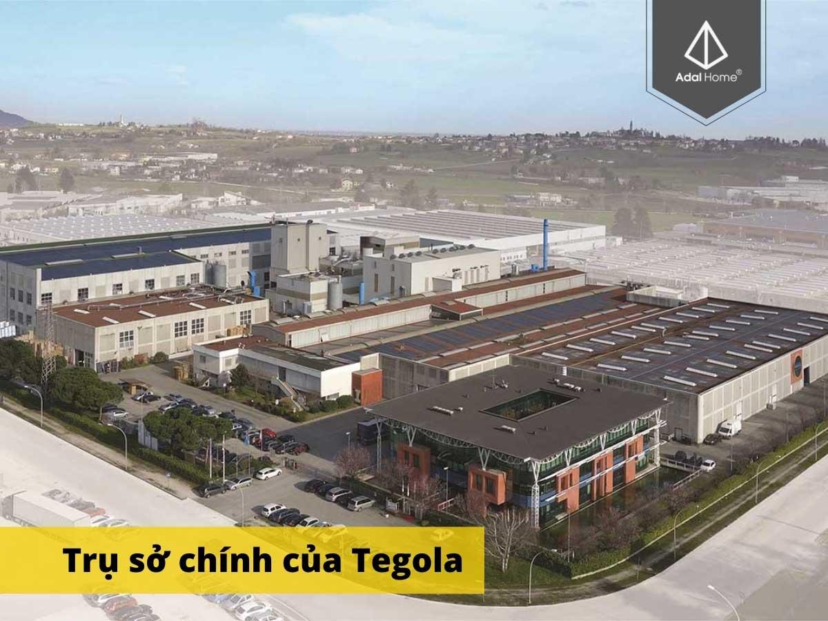 Nhà máy Tegola tại Italy