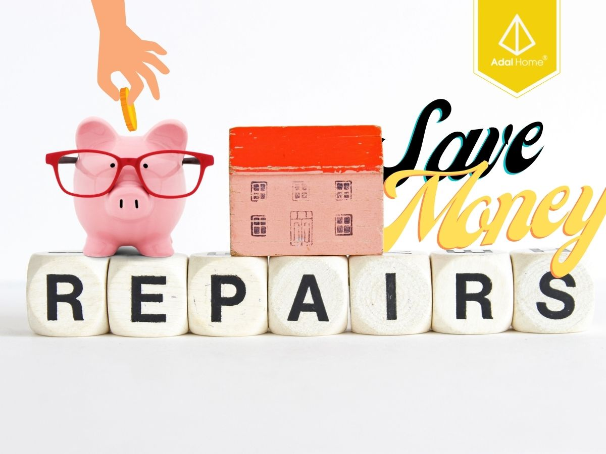 Chi phí sửa nhà sẽ tiết kiệm được khá nhiều