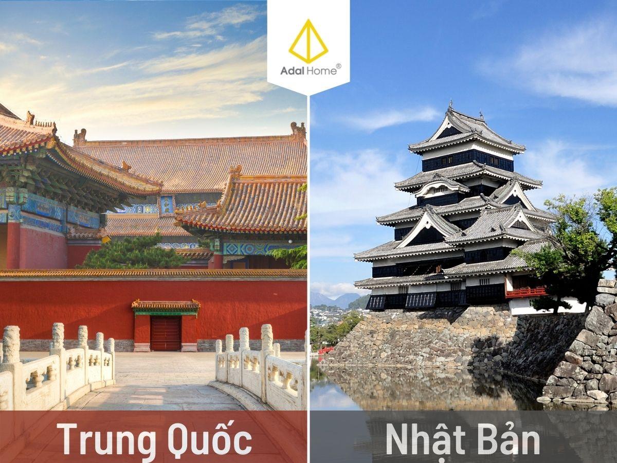 Công trình kiến trúc Trung Quốc và Nhật