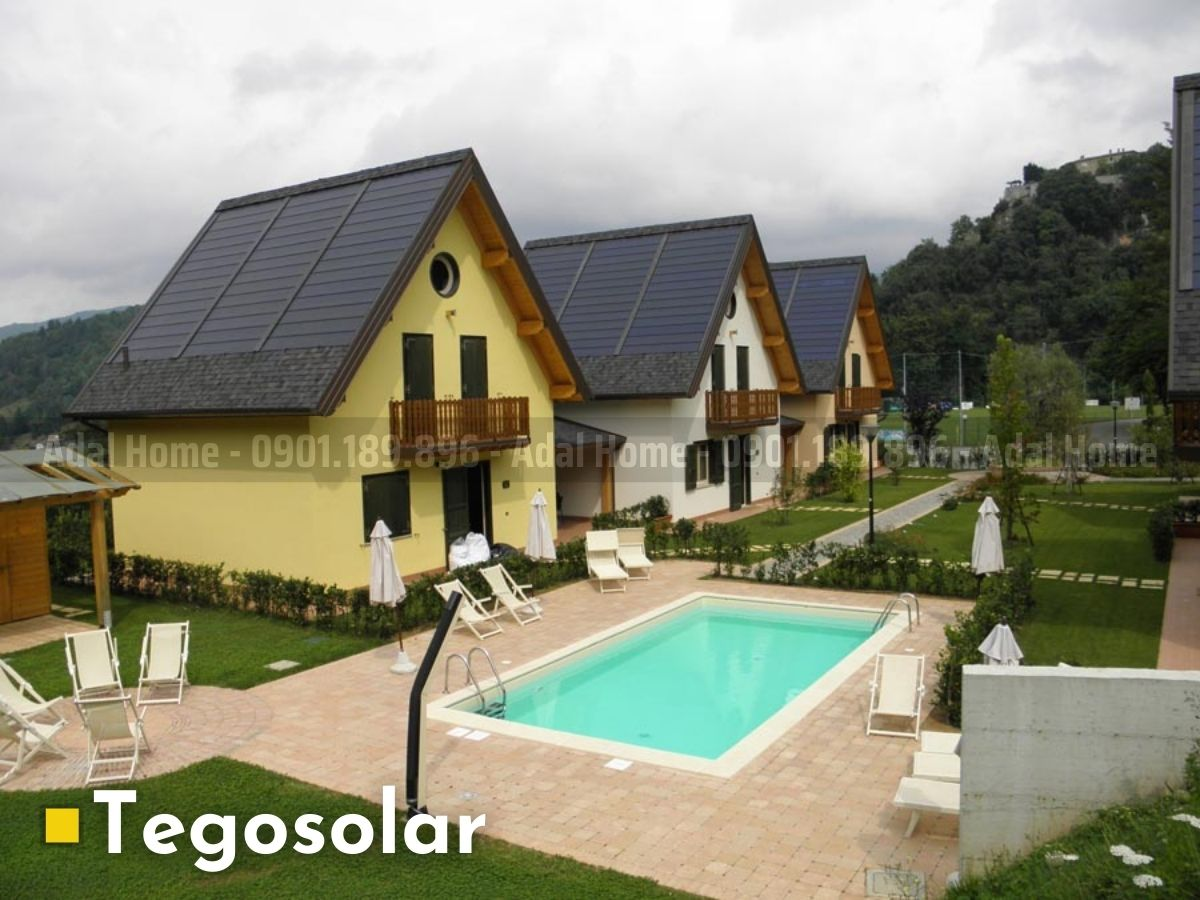 Lấy điện mặt trời bằng Tegosolar