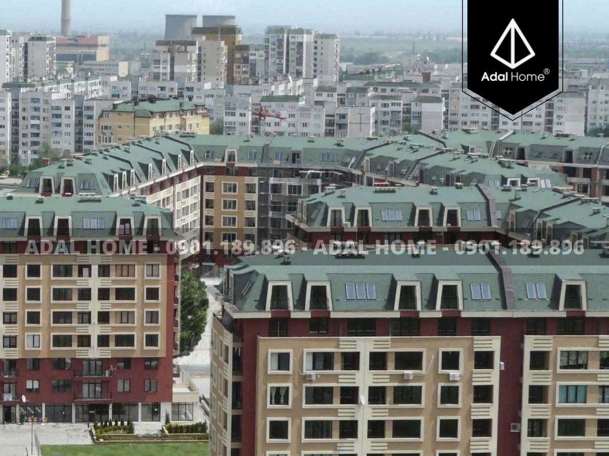 Mái nhà sử dụng ngói bitum Acti Roof