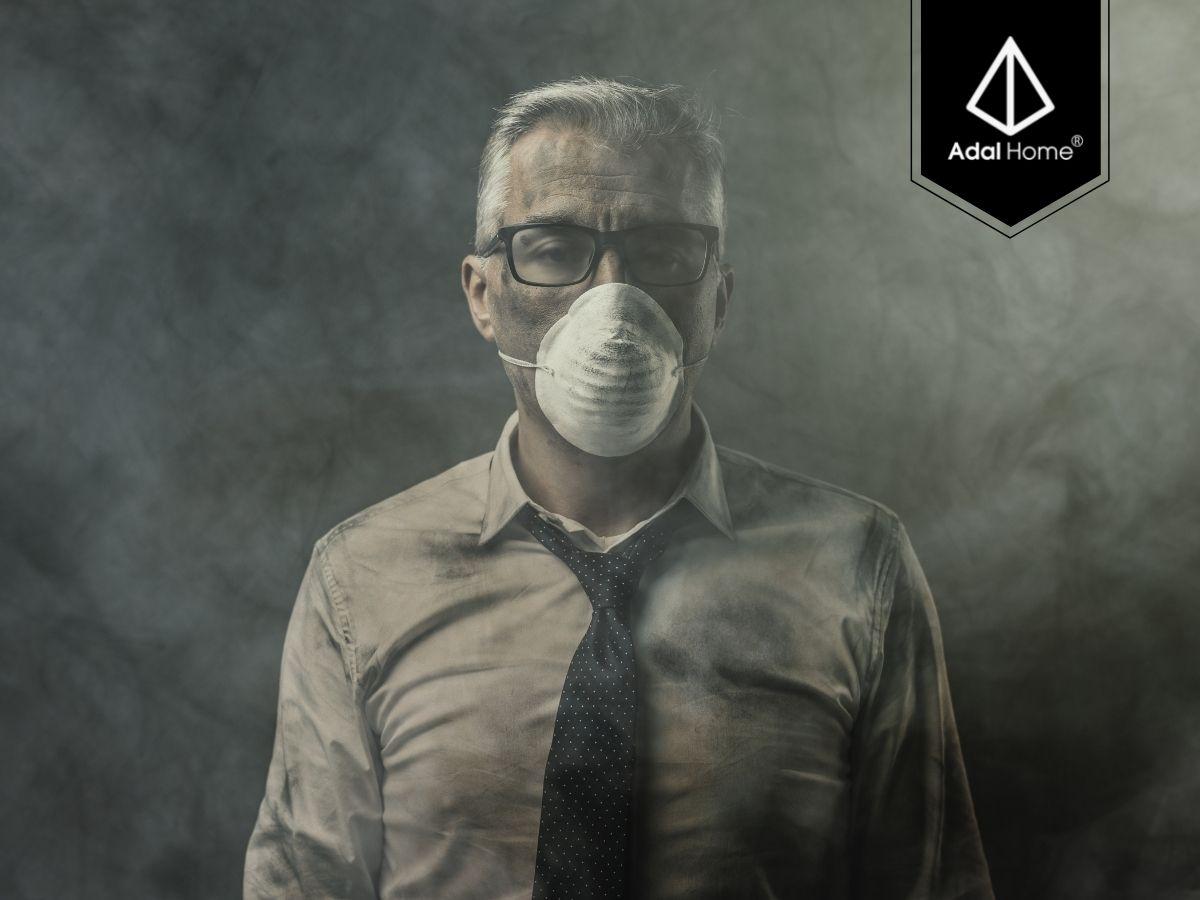 Ô nhiễm không khí từ nhà máy và xe cộ